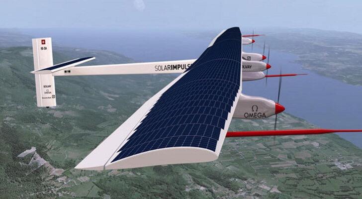 varias horas en vuelo solar